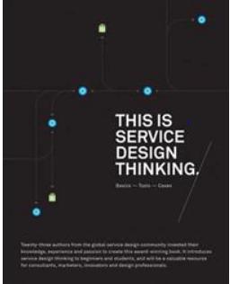 This is service design thinking - en bok som bland annat innehåller 5 service design-principer.