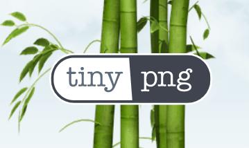 Tiny PNG - kanonbra sida för att minska storeleken på dina bilder.