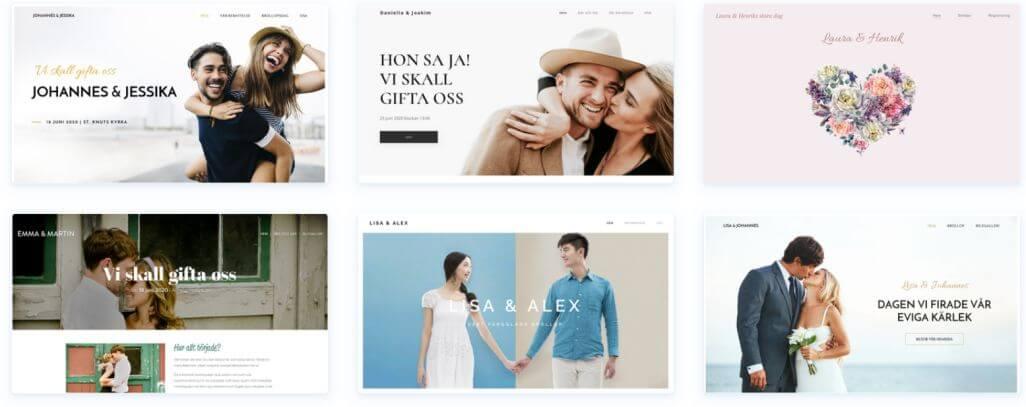 Det finns gott om bra Webnode mallar som du kan använda för din hemsida, som både ser moderna och snygga ut.