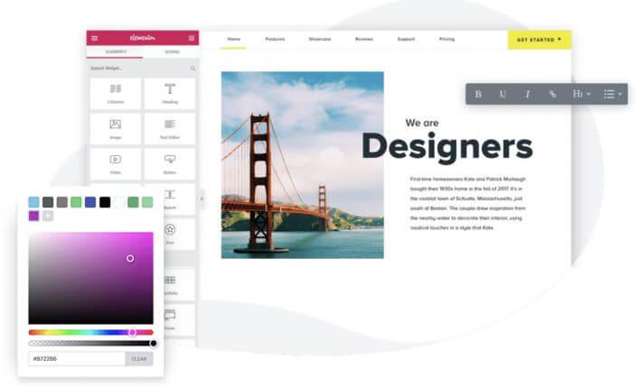 Wordpress - ett val för en billig hemsida om du är mer tekniskt kunnig.
