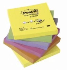 Notes POST-IT Z-block 76x76mm rainbow