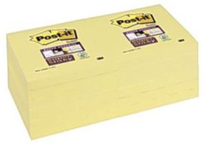 Post-It 654 Super Sticky 76x76 mm, 12 st