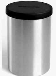 Moccamaster kaffeburk i rostfritt stål.