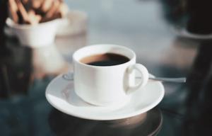 Varmt kaffe - mums.