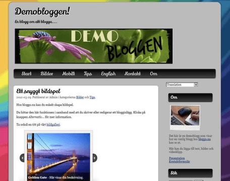 Bloggo mallar