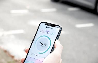 Hastighet och uppkoppling